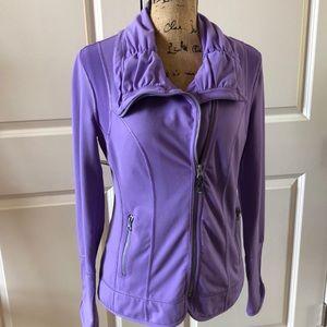 Zella activewear jacket in purple size Medium